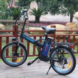 Lianmei que dobra a bicicleta elétrica da cidade com a roda de 20 polegadas, a bateria removível do Lítio-Íon (36V10Ah), suspensão e a engrenagem cheias superiores de Shimano