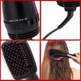 2016 ново приезжают 2 в фен для волос и Styler щетки волос горячего воздуха щетки сушильщика 1hair и волос электрический вращая