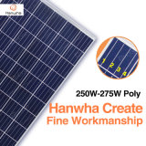 中国の上3つのPVの製造者Hanwhaよい価格の等級250W~275Wの太陽電池パネルのモジュール
