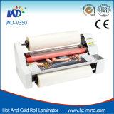 De professionele Hete Fabrikant (wd-V350) en walst Lamineerder koud