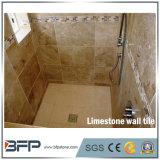 Kalkstein-Wand-Fliese-natürliche Steinwand-Umhüllung für Innendekoration