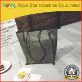 Form PU-lederne grosse Kapazitäts-Patchwork-Handtaschen-einzelner Schulter-Beutel