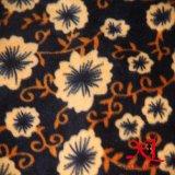 柔らかくより安い印刷の珊瑚のフランネルのパジャマによっては衣服ファブリックが家へ帰る