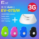 O perseguidor pessoal EV-07s EV-07W do GPS do preço da manufatura começ a concessão vermelha do projeto do PONTO com as micro de SIM dos miúdos do cartão pessoas adultas do perseguidor do GPS