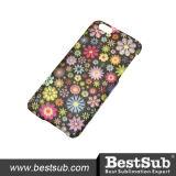 Tampa personalizada do telefone do Sublimation 3D para iPhone6 (lustrosos revestidos, desobstruídos)