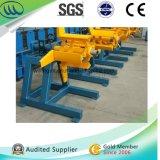 3 ton van Hand Eenvoudige Uncoiler voor de Rollen Decoiler van het Staal van het Metaal