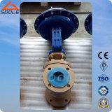 Верхний направленный клапан пневматического давления одиночного места CV3000 регулируя (ZJHP)