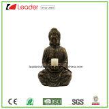 고대 돌을%s 가진 Polyresin 장식적인 Buddha 맨 위 동양 동상은 집으로 찾고 훈장 뜰을 만든다