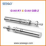 새로운 Seego 최고 Vaping는 K1 + 유리 용해로 펜을%s 가진 건전지 장비 G 명중했다