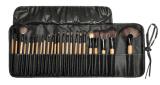 Profesional de madera del cepillo del maquillaje del color 24PCS
