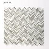 Плитки мозаики ванной комнаты цветного стекла Чiкаго церков Калифорния белые серебряные