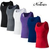 [دت0001] [نليوس] رجال ضغطة قميص رياضة أعلى لياقة لباس