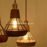 Lampe pendentif en métal décoratif en métal décoratif pour les cafétérias