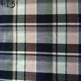 Il filato tessuto 100% del popeline di cotone ha tinto il tessuto per le camice/vestito Rls50-28po