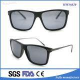 Óculos de sol plásticos do desenhador do inclinação de Soflying com pés do aço inoxidável