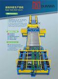 Ligne automatique de conduit de constructeur de conduit, machine de découpage de plasma, coupeur de plasma
