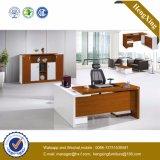 標準的なL形のオフィス用家具の白いメラミン事務机(NS-NW043)
