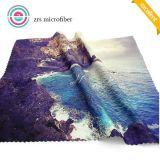 Сплетенная цветастая оптовая продажа полотенца высокого качества с тканью Microfiber в навальном дешевом цене для чистки