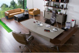Mobilia di legno esecutiva moderna del metallo (V5a)