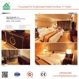 Hölzerne Möbel-Schlafzimmer-moderne Plattform Windsor festes Eichen-Holz-Bett