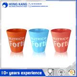 Taza multicolora simple modificada para requisitos particulares del plástico de la melamina del agua