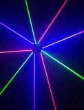 ディスコの移動ヘッドRGBレーザーの回転ビームライト