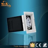 Los mejores parrilla principal Downlight de la calidad 3030SMD 3 7wx3 LED