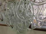 Bindet Glasgroßes stück B50-645 Farbton-dekoratives Hotel-hängende Lampe
