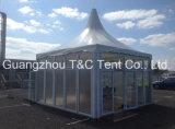Fabricante impermeável impresso personalizado da barraca do dossel do estilo do Pagoda 10 para a venda