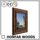Blocco per grafici di legno rustico della foto A4 per la decorazione dello scrittorio
