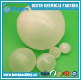 水の下のプラスチック空小型球の使用