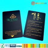 NDEFプログラムRFID無接触PVCスマートなNFC Ntag213カード