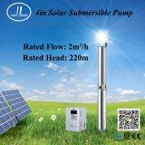 Pompa sommergibile centrifuga solare del pozzo profondo, pompa 3.0kw di agricoltura