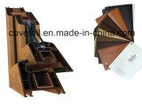 Stagnola protettiva di plastica/pellicola di uso esterno di legno Anti-UV del grano per U-PVC & i profili di alluminio