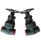 800lb 1500lb a modifié le robinet d'arrêt sphérique en acier de l'extrémité d'amorçage A105 TNP
