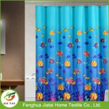 Kundenspezifischer Luxuxseefisch-Polyester-Stromausfall-Duschvorhang