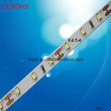 Ce / Cumple con los 60LED / M DC 12V flexible tira de LED 2835 para la Navidad