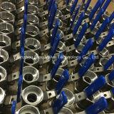 Robinet à tournant sphérique de l'acier inoxydable 1PC avec le traitement verrouillé