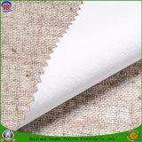 Tela impermeável tecida matéria têxtil da cortina do escurecimento do revestimento do franco da tela do poliéster para a cortina de indicador do hotel