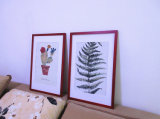 Collagen-/Karikatur-Wand-Kunst-hölzerne Bilderrahmen-Dekoration