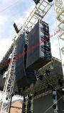 Xlc127 + riga esterna schiera, suono di giro, 12 pollici di concerto con la riga sana potente altoparlante di schiera