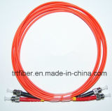 St/St mm Duplex Fiber Optic Patch Cord