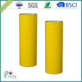Fita adesiva adesiva da embalagem da cor amarela BOPP