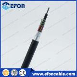 Cable acorazado de aluminio de fibra óptica del conducto (GYTA53)