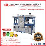 Máquina plástica semiautomática de Thermoforming del vacío para el shell del equipaje