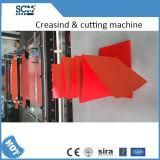 Автоматический бумажный Creasing и автомат для резки