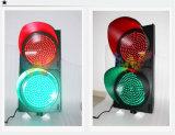 400mmのパソコンハウジングの私道の赤い緑の交通信号ライト