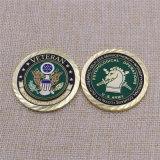 Lo smalto molle Metal moneta di sfida dell'esercito americano per l'accumulazione