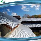 Feuille ondulée galvanisée plongée chaude de toit de profil de 820mm