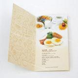 Изготовленный на заказ печатание цвета брошюры меню трактира, наилучшее предложение и самое лучшее обслуживание